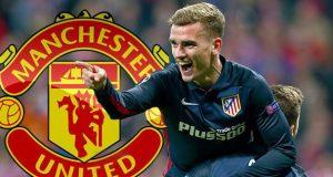 """مهاجم أتليتكو مدريد """"غريزمان"""" يتوصل إلى اتفاق مبدئي للانتقال إلى مانشستر يونايتد"""