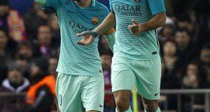برشلونة يعود بفوز هام من قلعة الأتليتيكو ويخطو خطوة كبيرة نحو نهائي الكأس