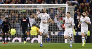 بأداء جدّي ومقنع يفوز ريال مدريد بالثلاثة على نابولي ويتقدم خطوة هامة نحو ربع النهائي