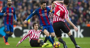 برشلونة يتفوق على بيلباو بتشكيلة غير اعتيادية