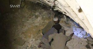 أمريكا تقصف مسجدا في حلب وتقتل 35 مصليا (فيديو)