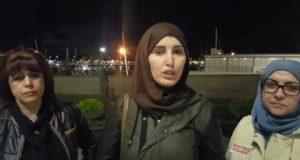احتجاج نساء مسلمات ضد التمييز في إسبانيا