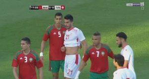 ملخص مباراة المغرب وتونس