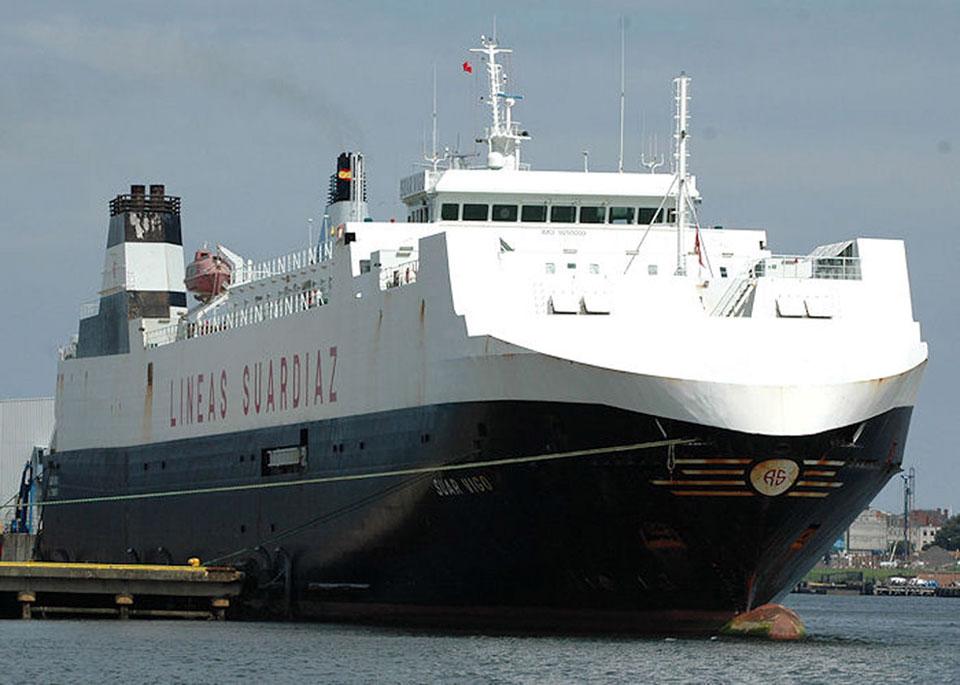 """شركة """"Suardiaz"""" تمدّد """"الطريق السيار الأوروبي البحري"""" ليصل إلى ميناء """"زي بروج"""" ببلجيكا شمالاً وميناء طنجة المتوسط جنوباً"""
