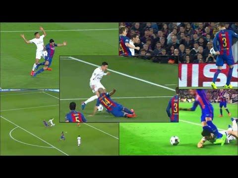 """أخطاء تحكيمية في مباراة ريال مدريد والبايرن تعيد فضيحة """"معجزة البارصا"""" إلى الواجهة (فيديو)"""