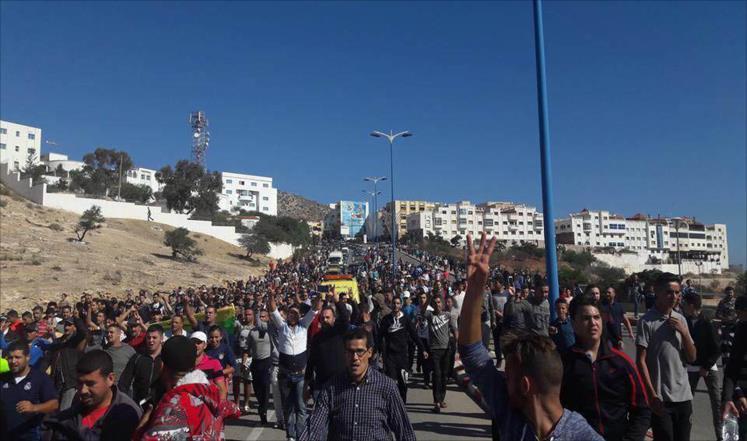 الاحتجاجات تتسع في الحسيمة رغم تعهدات السلطات
