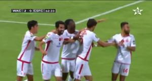 ممثل الكرة المغربية الوداد البيضاوي يستهل دور المجموعات بفوز مقنع على كوطون سبورت الكاميروني