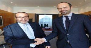 عمدة طنجة يهنئ عمدة لوهافر، التي تربطها شراكة اقتصادية مع المدينة، على تعيينه رئيس للوزراء بفرنسا