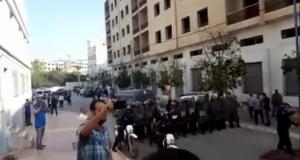 إصابات خطيرة بين عناصر من القوات العمومية أثناء مواجهات مع المحتجين على محاولة اعتقال الزفزافي