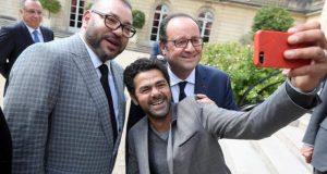 قصر الإليزيه: لقاء بين الملك محمد السادس والرئيس الفرنسي بحضور شخصيات بارزة من المجتمع المدني الفرنسي