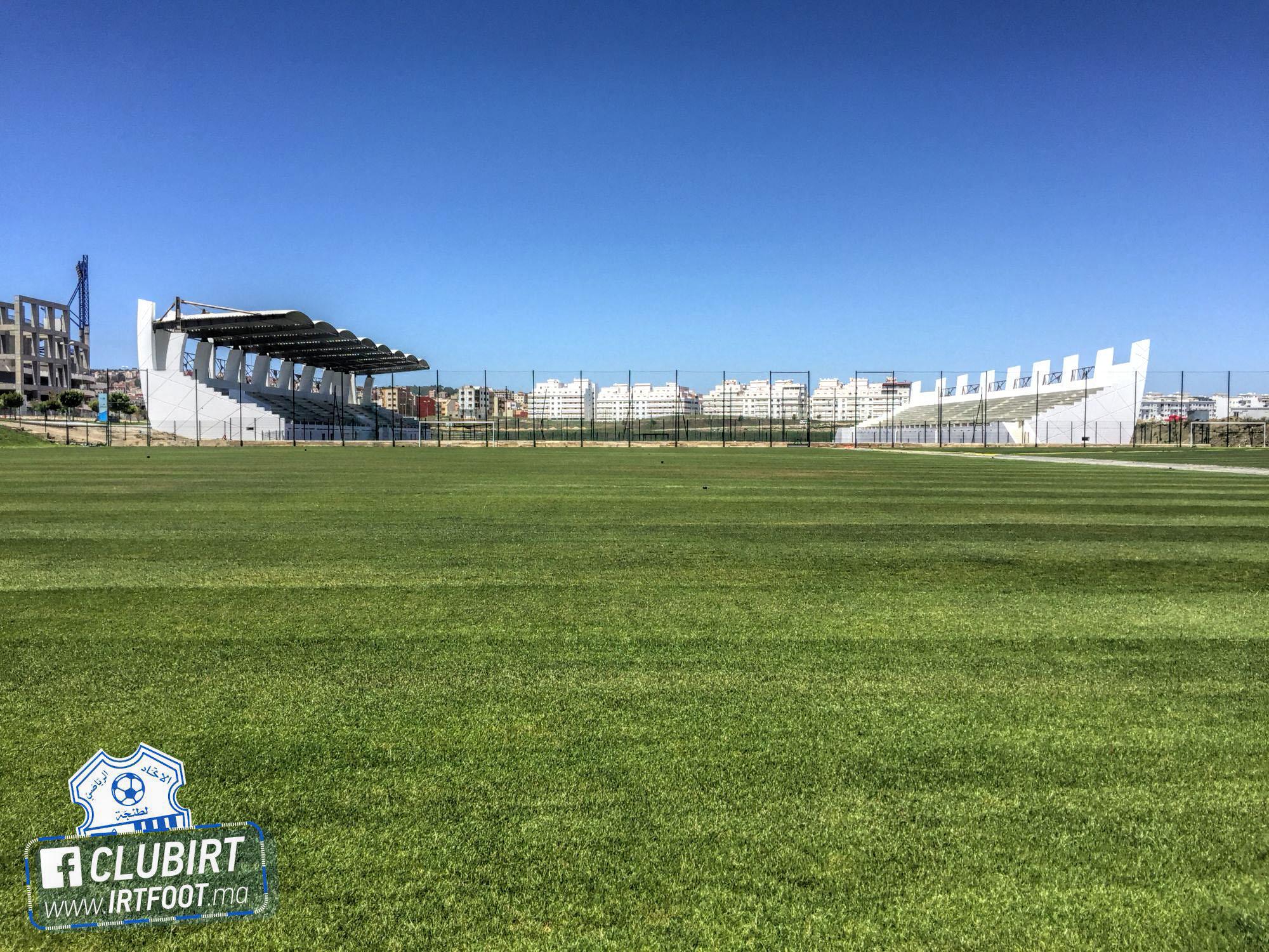 اتحاد طنجة يستفيد من ملعب جديد للتداريب مزود بالعشب الطبيعي وقريب جدا من ملعب بن بطوطة