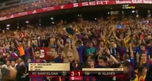 فيديو لأهداف نهاية كأس ملك إسبانيا بين ألافيس وبرشلونة
