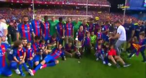 برشلونة بطل كأس ملك إسبانيا للمرة الثالثة على التوالي