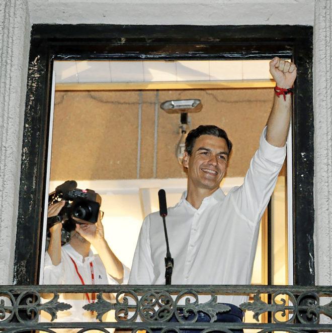 بيدرو سانشير يُبعث حيا بعد انتخابات داخلية بالحزب الاشتراكي الإسباني