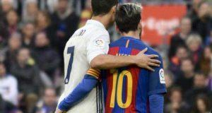 """ميسي يتحدث عن رونالدو: """"هو لاعب هائل، من الأفضل في العالم، يتفوق على نفسه موسما تلو الآخر.."""""""