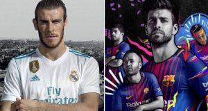 أسعار مجنونة للقمصان الجديدة لريال مدريد وبرشلونة