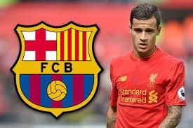 بعثة برشلونة وصلت اليوم ليفربول في آخر محاولة لجلب كاوتينيو (صديق نيمار)، البارصا عرض 80 مليون يورو وليفربول يطلب 105