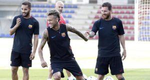نيمار ينفي بشدة خبر قبوله عرض باري سان جرمان ويؤكد سعادته في برشلونة