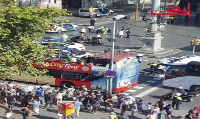 15 قتيلا وعشرات الجرحى في حادث دهس شاحنة لمواطنين وسط برشلونة