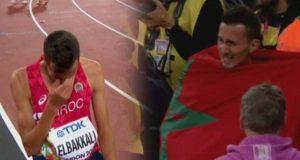 البطل المغربي سفيان البقالي يتوج بالميدالية الفضية في سباق 3000 متر موانع ببطولة العالم لألعاب القوى