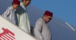 مباشرة بعد احتفالات عيد الشباب بتطوان: الملك محمد السادس يطير إلى فرنسا