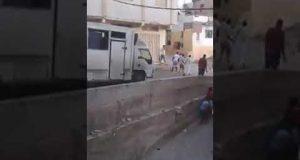 مواجهات بين أفارقة وشباب من حي مسنانة
