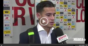 """كاوتينهو يؤكد لأول مرة عَلناً في تصريح لقناة """"أوروسبور برازيل"""" أنه يرغب في اللعب في برشلونة"""