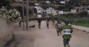 إصابة عناصر أمنية مغربية في اشتباكات مع مهاجرين أفارقة في الغابات المحيطة بمدينة سبتة المحتلة