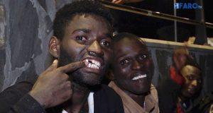 عشرات الحراكة الأفارقة يصلون سبتة