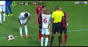 ملخص مباراة الوداد البيضاوي واتحاد الجزائر