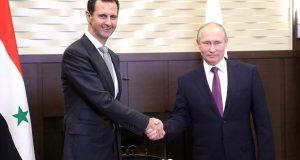 """زيارة مفاجئة لبشار الأسد إلى """"سوتشي"""" الروسية"""