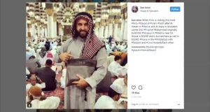 إسرائيلي داخل الحرم النبوي بالسعودية يثير استهجانا كبيرا