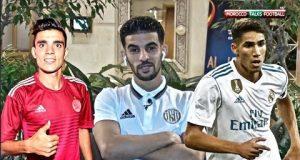 بوصوفة ضد حكيمي في مواجهة ريال مدريد والجزيرة الإماراتي