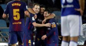 """برشلونة ينهي عقدته بملعب """"أنويتا"""" ويكمل مرحلة الذهاب بدون هزيمة"""