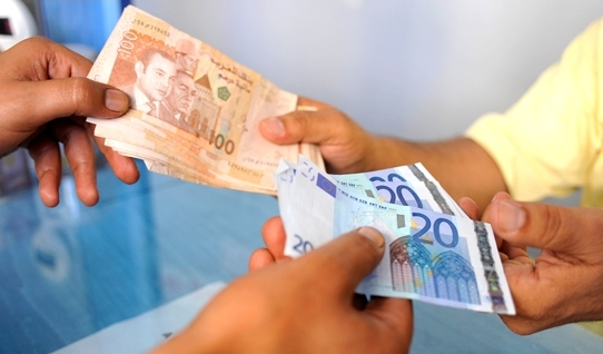 عكس التوقعات.. بنك المغرب يؤكد ارتفاع قيمة الدرهم مقابل اليورو بنسبة 0,13%