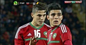 ملخص مباراة المغرب وناميبيا