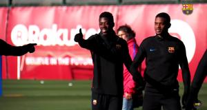 أطباء برشلونة يؤكدون أن ديمبيلي جاهز للعودة إلى الملاعب.. ويُحتمل ظهوره غدا ضد صلطا في مسابقة الكأس (فيديو)