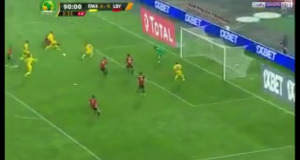 جمهور طنجة دعم منتخب ليبيا إلى أن سجل هدف التأهل في آخر أنفاس اللقاء