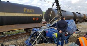 برقية تعزية من الملك محمد السادس إلى عائلات حادث القطار بطنجة