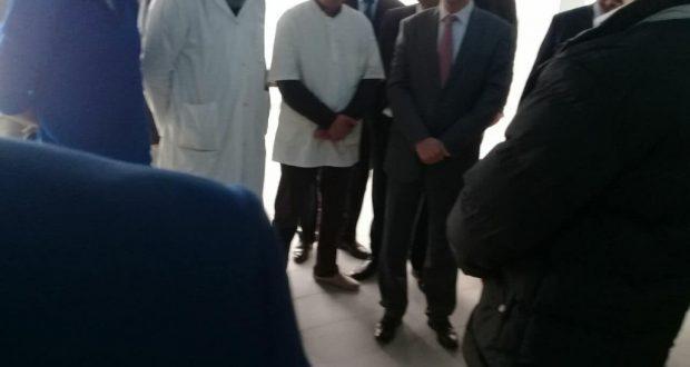 أطر وإداريو مستشفى محمد الخامس بطنجة كانوا على علم بزيارة وزير الصحة