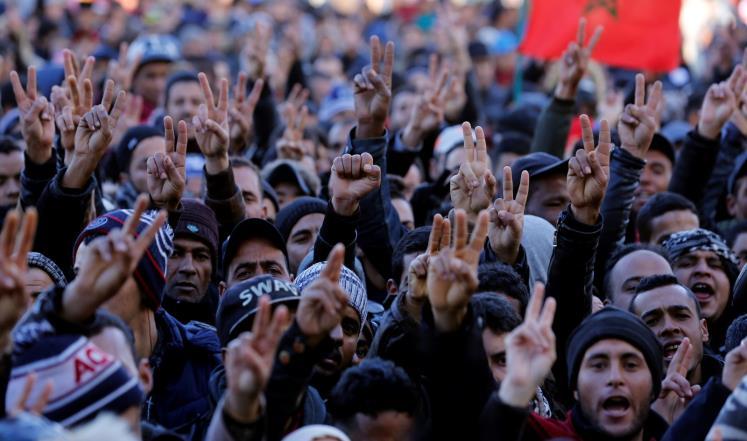 الفقر والتهميش أساس الاحتجاجات في المغرب