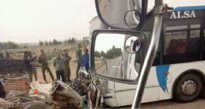 تسعة قتلى وستة جرحى في اصطدام شاحنة بحافلة ضواحي أكادير