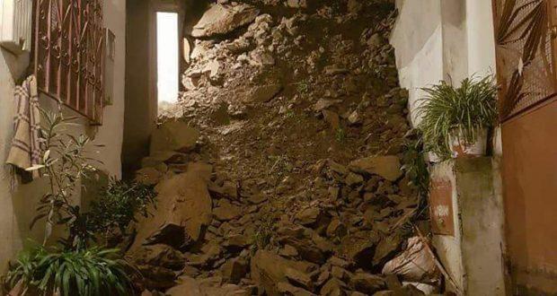 امغوغة بطنجة.. تخوف كبير بين الساكنة بعد انجراف خطير التربة