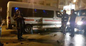 حادثة أخرى: سيارات نقل العمال بطنجة تعربد… ولا من يوقفها..!