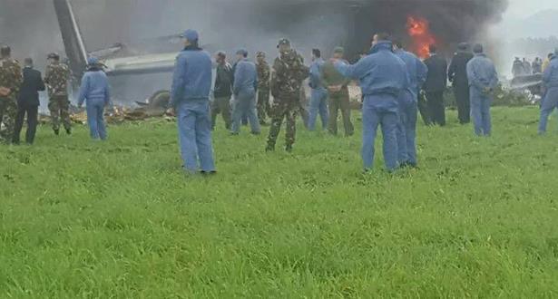 تحطم طائرة عسكرية جزائرية على متنها 100 عسكري بينهم ضباط