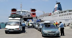 أمن وجمارك الميناء المتوسطي يقدمان حصيلة ما هو إيجابي سنة 2017
