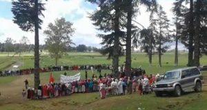 """احتجاجات في الريف لتمكين السكان من أراض سلالية قرب """"إساكْن"""""""