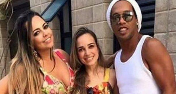 رونالدينهو سيتزوج امرأتين وحدد شهر غشت القادم لإقامة عرسهما معاً في يوم واحد