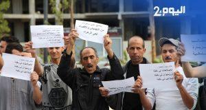 """احتجاج ضد """"رامبوان الموت"""" بطنجة"""