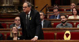 """صراع شديد بالبرلمان الكتالوني ينتهي بفوز """"الانفصاليين"""" ب66 صوت مقابل 65"""